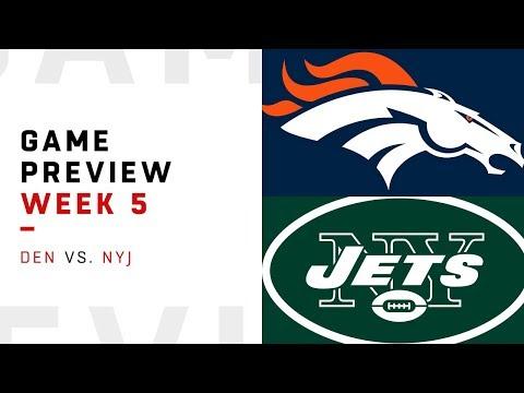 Denver Broncos vs. New York Jets   Week 5 Game Preview   NFL Film Review