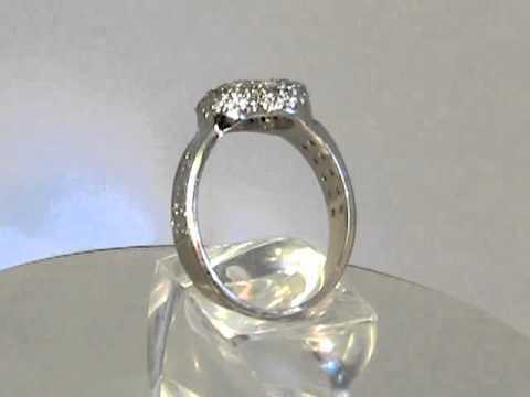 Золотое кольцо с бриллиантом в форме сердца.mpeg2video.mpg