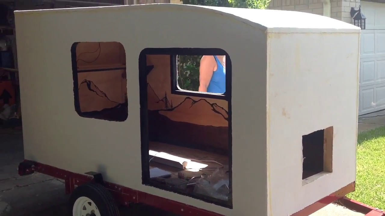 How To Build A Teardrop Camper Squaredrop Camper Episode 5