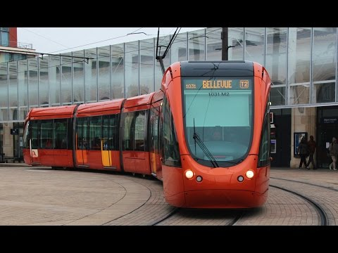 Trams in France : Le tramway du Mans