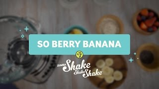 So Banana Berry Recipe (Gluten Free, Dairy Free, Low Sugar)
