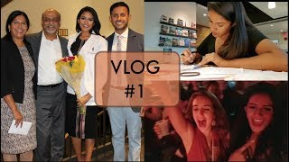 Vlog #1 | Vet School Studying | Drag Show?? | White Coat Ceremony