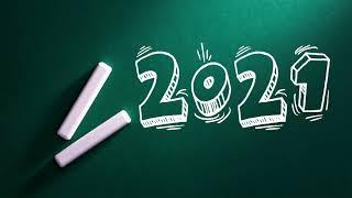 2021 Выпуск мелом на доске школьный футаж.Выпускной,доска,мел.С фоном и без,хромакей.school 2021