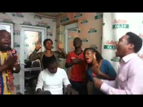 Oko Hackman at Radio Station