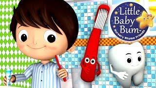 This Is The Way We Brush Our Teeth | Nursery Rhymes | HD Version from LittleBabyBum