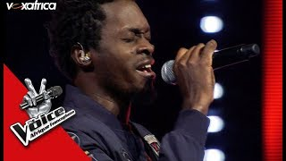 Serge « We sing in time » de Faada Freddy I Les Epreuves Ultimes The Voice Afrique 2018