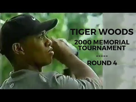 Tiger Woods 2000 Memorial Tournament Highlights - Round 4 (Full)