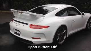 New Porsche 991 GT3 with Shark Werks Exhaust