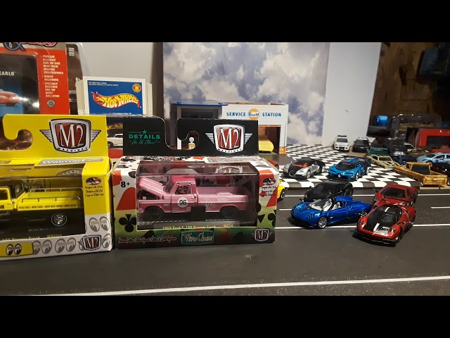 Mail call raok from my friend Hot Wheels M2 and other diecast 1/64 cars