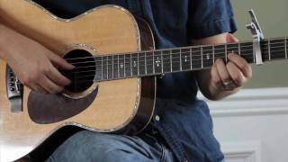 How to play The House that Built Me intro by Miranda Lambert taught by Lance