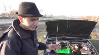 ВАЗ 2114 4 х дроссельный впуск   тюнингтайм  Жорик Ревазов