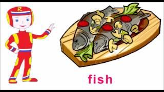 Еда на английском. Учим английские слова. Видеоуроки английского.
