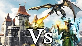 Would CASTLES be useful against Magic and Dragons? FANTASY RE-ARMED