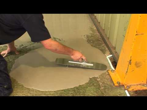 Stopgap 850 - Application of Outdoor Self-Levelling Compound