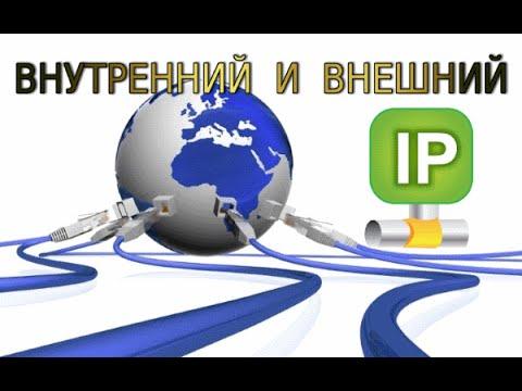 видео: Как узнать внешний и внутренний ip адрес компьютера