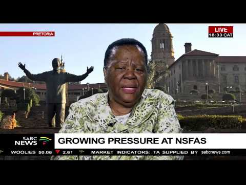 Naledi Pandor holds meeting with NSFAS after Nxasana's resignation