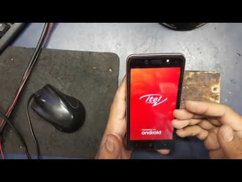 Itel A42 plus hang on logo solution