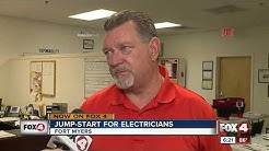 Contractor offer free electrician training in Fort Myers