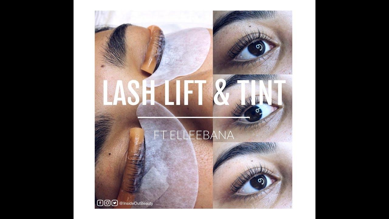 a522d57d3ee Lash Lift and Tint | ft Elleebana - YouTube