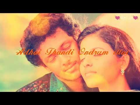 Un perai sollumpothe song /lovely lyrics /Tamil whats app status/ video 😃