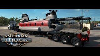 ???? American Truck Simulator Special Transport Przewozimy domy, rusztowania, itp - Na żywo
