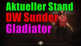 [3.0] Aktueller Stand  (Level 93) - Dual Wield, Sunder, Bleed, Gladiator - Path of Exile  [german]