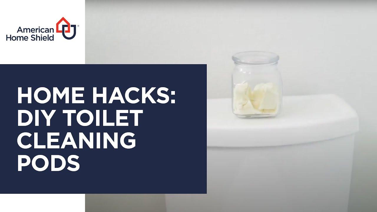 Hacks - DIY Toilet Cleaning Pods - AHS