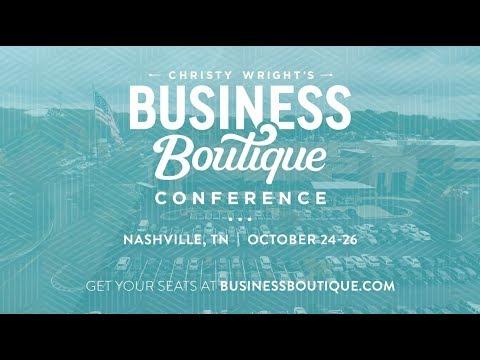 Business Boutique Conference – Nashville, TN | Business Boutique