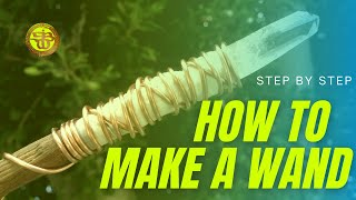 How to make your own magic wand and charge it with sound