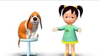 Английский язык для малышей: Мяу-Мяу - I am - обучающий мультик(В этой серии обучающего мультфильма, малыши вместе с собакой Додо и его подружкой Мяу-Мяу научатся знакомит..., 2014-01-06T07:00:00.000Z)