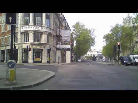 Scenic Time Lapse Car Journey - London to Bristol along A4