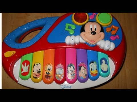 Mickey Mouse Piano Youtube