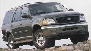 2002 Ford Expedition Start Up and Review 5.4 L Triton V8