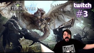 Game Rating Review Weekly TWITCH Stream: Monster Hunter World #3 w/ Nick & David (07/11/18)