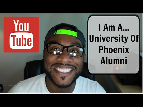 I Am A... University Of Phoenix Alumni (Update)