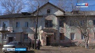 Жилой дом в Твери на грани обрушения
