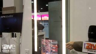"CEDIA 2014: Electric Mirror Adds Mirrored Medicine Cabinet Line With 15.4"" TV Embedded in Door"