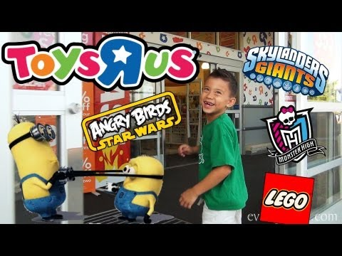"""toys-""""r""""-us-shopping-(episode-2)---skylanders,-lego,-despicable-me-2,-turbo,-monster-high-and-more!"""