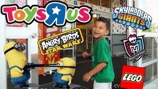 "Toys ""R"" Us Shopping (Episode 2) - Skylanders, LEGO, Despicable Me 2, Turbo, Monster High and more!"
