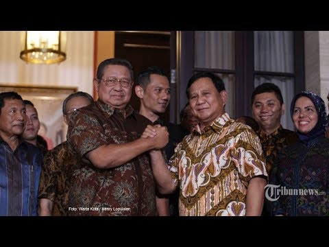 Akan Beri Masukan, SBY Undang Tim Persiapan Debat Prabowo-Sandi Mp3