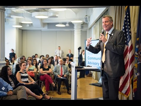 Mayor de Blasio Taps New Advisory Board to Help Develop NYC's Next Wave of Schools