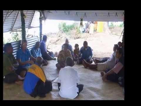 Roman Catholic Youth Piggery Project opening Rabi Island Fiji