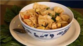Beet & Squash Recipes : Zucchini Pasta Salad