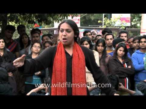 Manveer Choudhary | Arvind Gaur | Asmita Theatre Group | Performing Street Play
