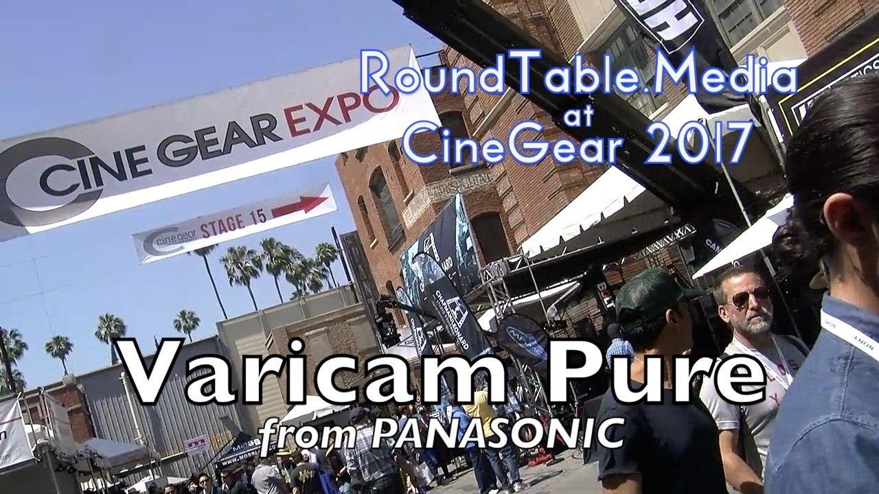 CineGear'17 Panasonic Varicam Pure