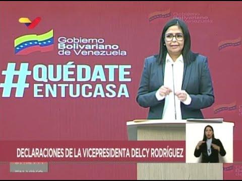 Reporte Coronavirus Venezuela, 29/04/2020: Delcy Rodríguez informó de 2 nuevos casos para 331