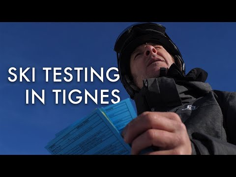 Testing Skis In Tignes With The MTN Collective   Inside Salomon