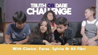 TRUTH OR DARE CHALLENGE [ With Clarice, Faras, Sylvia & Ali Fikri ]