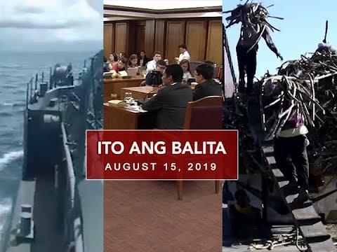 UNTV: Ito Ang Balita (August 15, 2019)