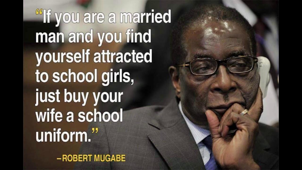 Rip Mugabe Most Funny Quotes